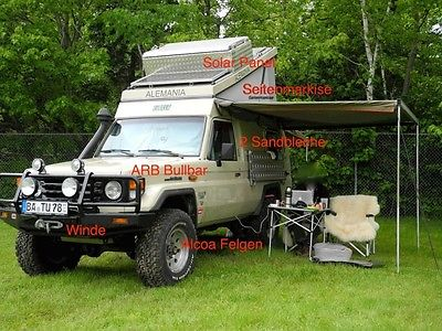 SOLD – Toyota Land Cruiser HZJ78 – Plenty of Extras – Germany