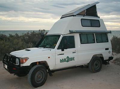 SOLD – Toyota Land Cruiser Bushcamper V8 – Australia