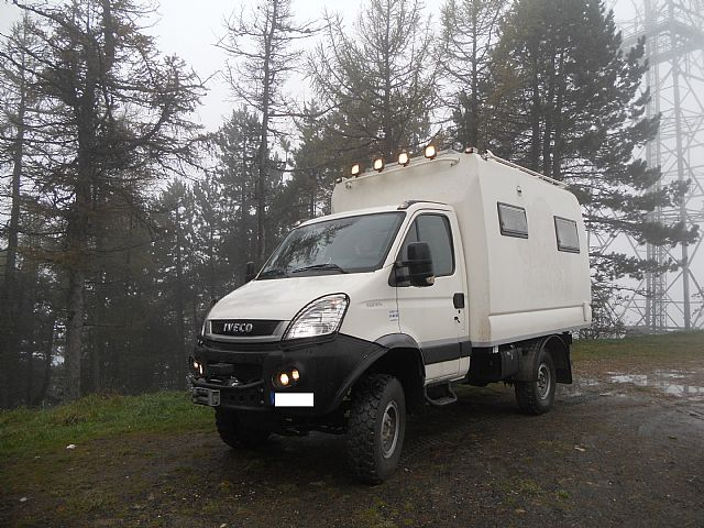 SOLD – Iveco – Daily 4×4 55SW18 VAS – Full Camper – Italy – €55,000
