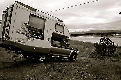 SOLD – Mitsubishi L200 with Knaus Fiberglass camper – €14,500 – Germany