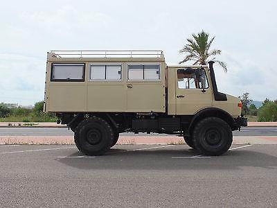 SOLD – Mercedes – Benz Unimog 1300L Caravan – Germany – €37,950