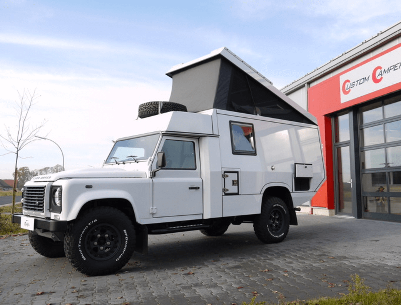 Land Rover Defender 130 Camper 2015 13500 miles – UK – £79,000