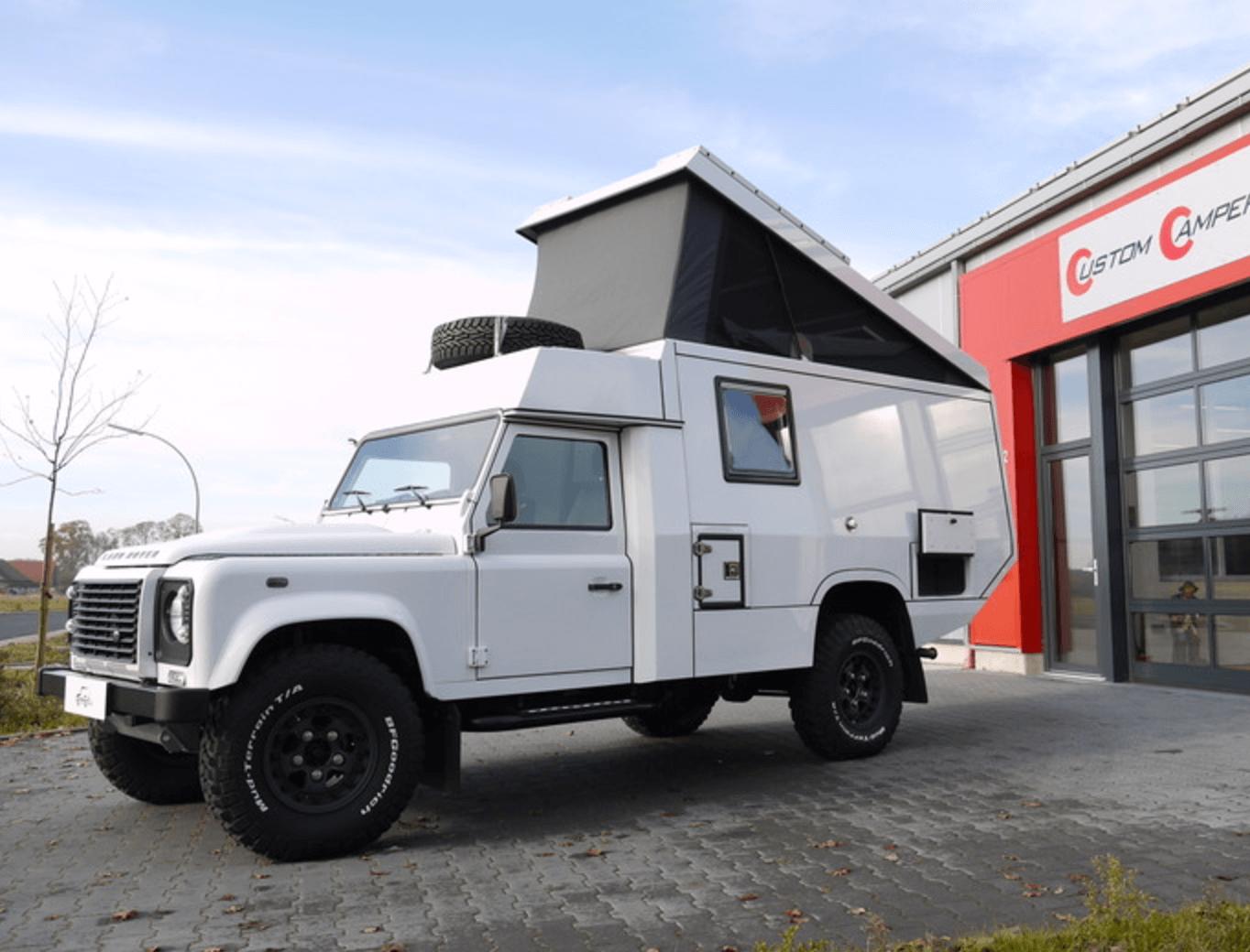 Land Rover Defender 130 Camper 2015 13500 miles – UK – £79,000