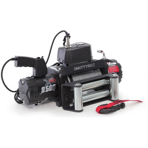 Smittybilt 9500lb XRC Winch Review   Expedition Vehicles For Sale