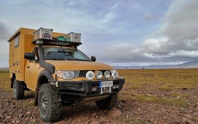 Mitsubishi L200 4×4 with custom camper – Spain – €52,000