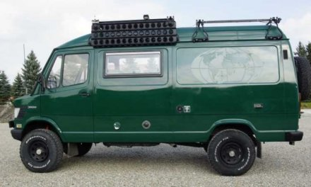 Mercedes-Benz T1 310D 4×4 Camper – Germany €36,500