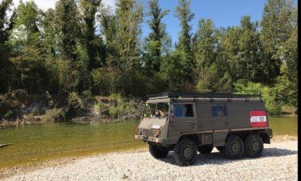 Steyr Puch 712K Pinzgauer 6×6 Offroad Camper – Austria – €29,000