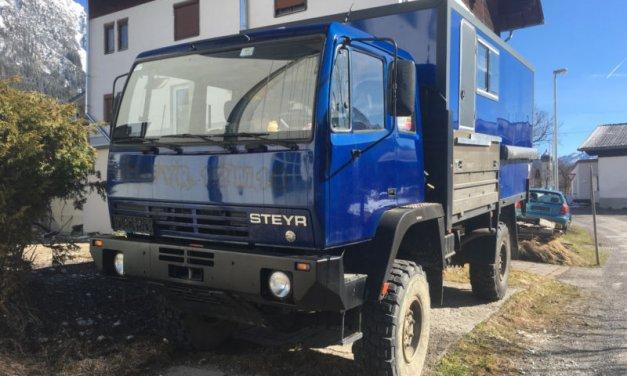 Steyr 12M18 Overland Truck – Austria – €45,000