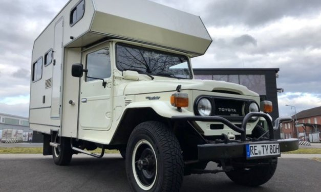 Toyota HJ45 4×4 Custom Camper – Germany – €58,000
