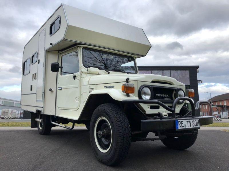 Toyota HJ45 4×4 Custom Camper – Germany – €58,000