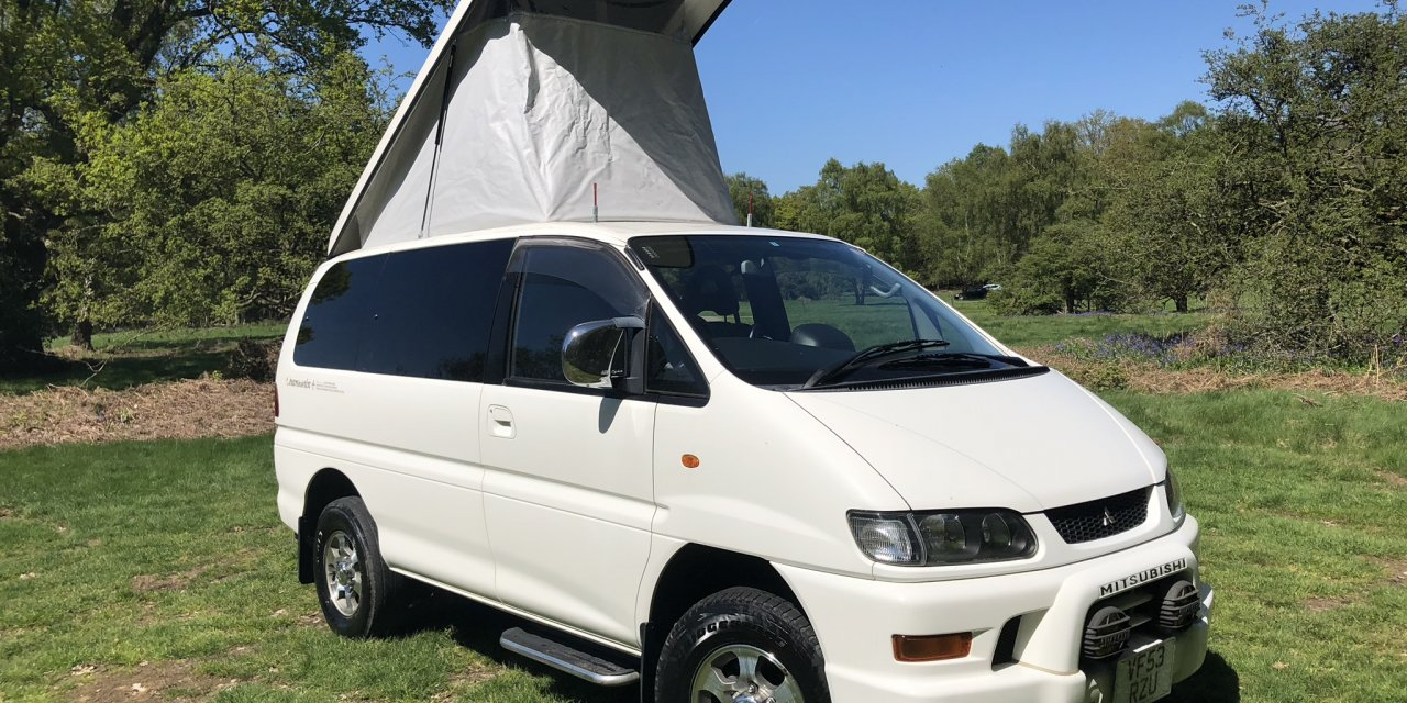 Mitsubishi DELICA CAMPERVAN 2004. 58.5K miles Petrol & LPG – UK – £12,000