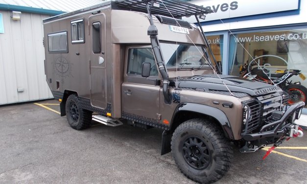 Defender 130 Camper Expedition Vehicle – England – £89995