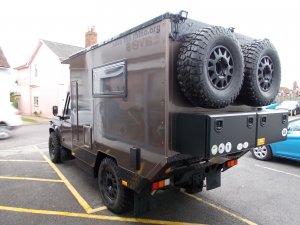 Defender 130 Camper Expedition Vehicle Rear