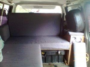 Mitsubishi Delica 4WD Camper Interior Seats