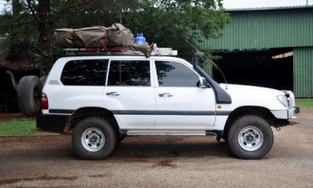 TOYOTA LAND CRUISER 105 2003 – South Africa – $US17000