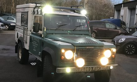 110 Land Rover Defender Camper – Scotland – £24,850