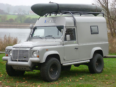 SOLD – Defender 110 custom made camper – Germany