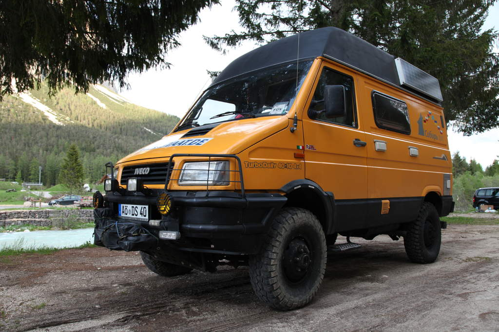 SOLD – Iveco Daily 4×4 camper