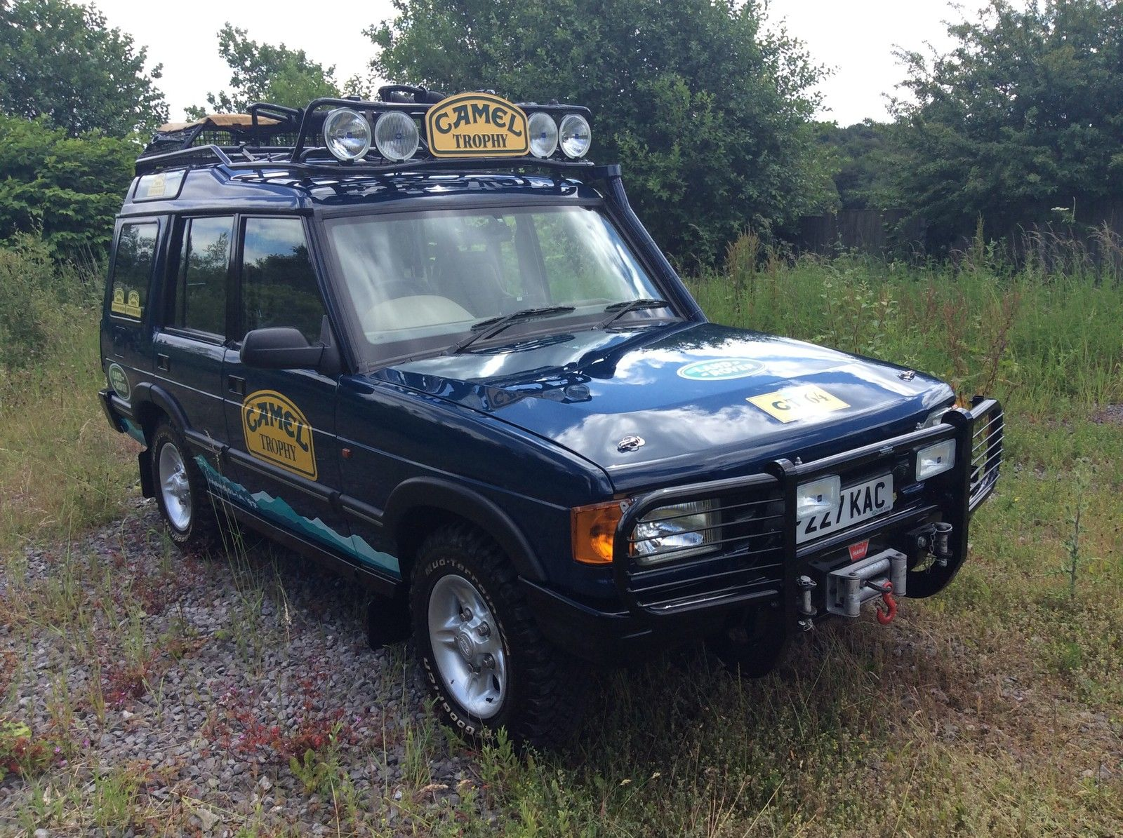 SOLD – Camel Trophy Land Rover Discovery – 30,000 miles! – UK