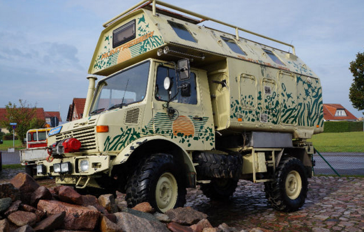 SOLD – Mercedes-Benz Unimog U1300 – Fully Kitted and ready to go – germany