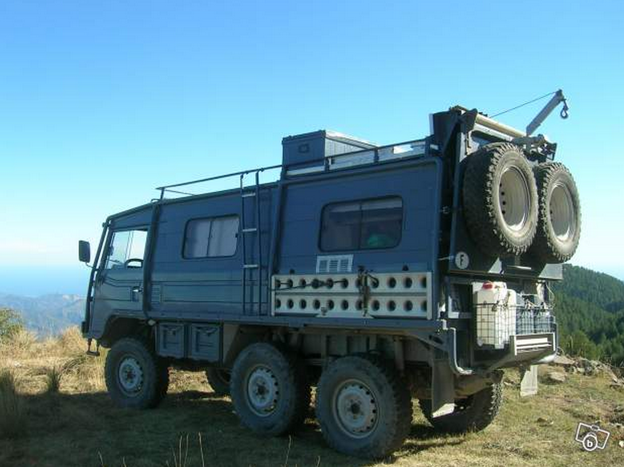 SOLD – Pinzgaur 6×6 – Massive Spec Expedition Camper