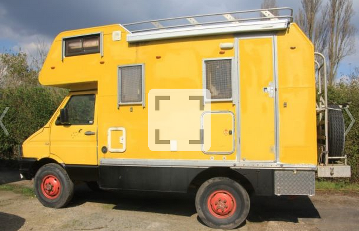SOLD – Iveco Turbo Daily 4×4 – Coachbuilt Camper – GB