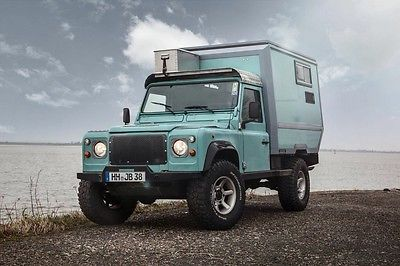 SOLD – Custom Land Rover Defender 110 with Camper Cabin – Germany