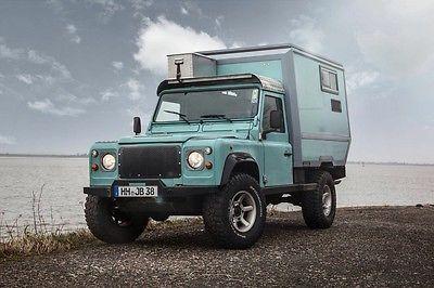 SOLD – Custom Land Rover Defender 110 with Camper Cabin – Germany