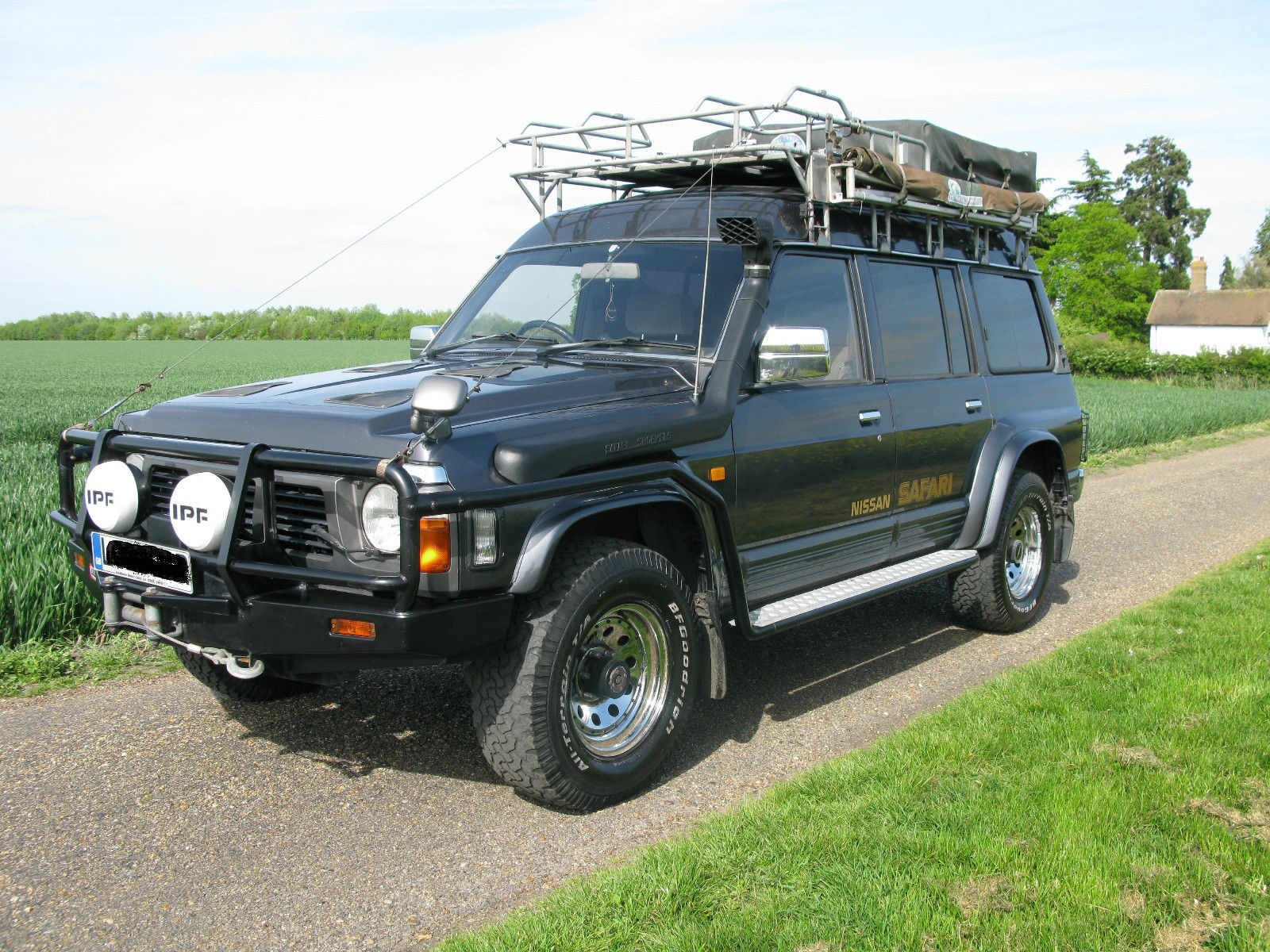 SOLD – Nissan Safari 4.2 Turbo Diesel (Patrol GR SLX) – 1994 Y60 Overland/Expedition Prepared Vehicle – UK