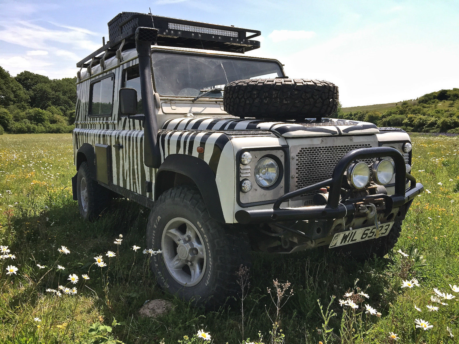 SOLD – Land Rover 110 Td5 – Extensively Prepped – UK