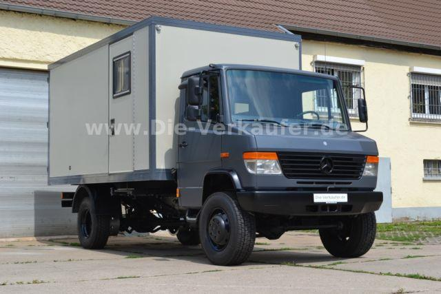 SOLD – Mercedes 814D 4×4 with Box for Camper Conversion – Germany – €34,990