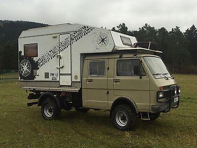 SOLD – VW LT 4×4 Truck Camper – Germany – €19,900