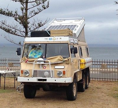 SOLD – Pinzgauer 6×6 Expedition Camper – germany – €13,999
