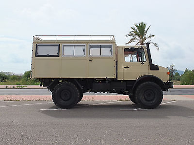 SOLD – Mercedes – Benz Unimog 1300L Caravan – Germany – €37,950