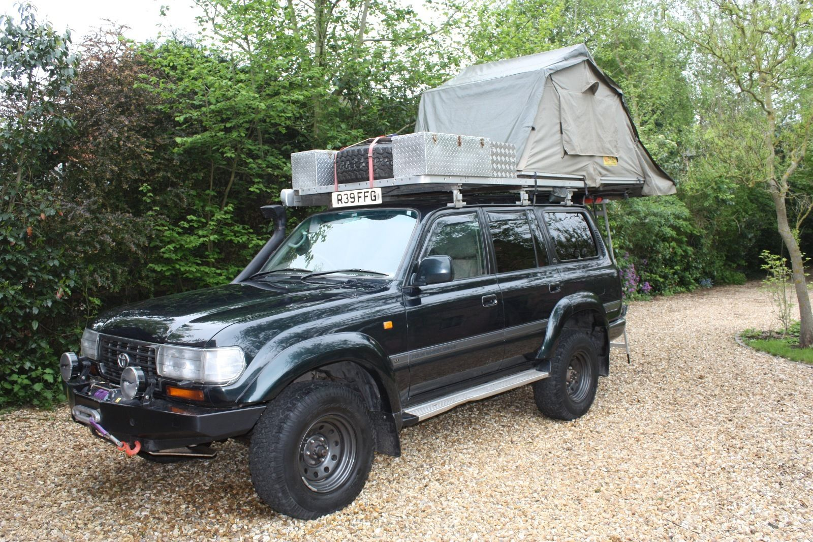 TOYOTA LAND CRUISER AMAZON 4.2 TD GX 5 DOOR – FULLY PREPARED – £20,000 – UK