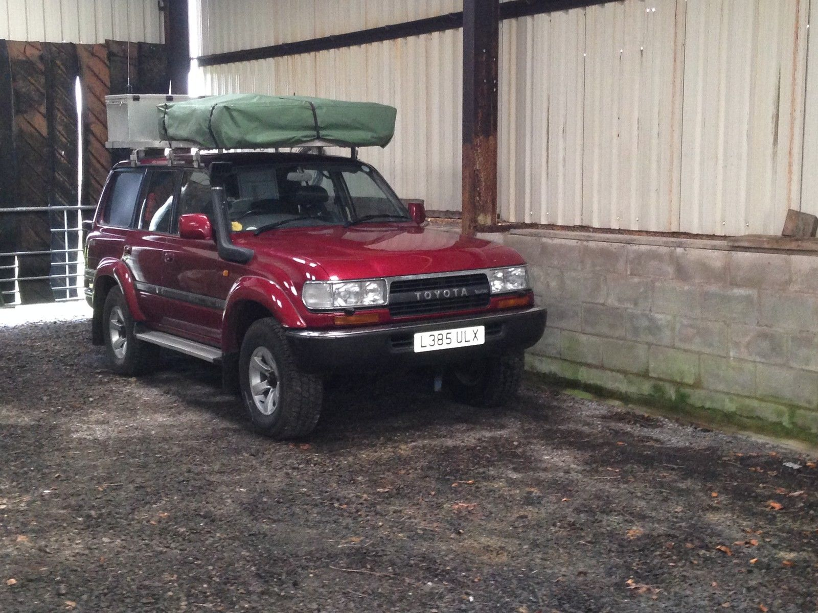 Toyota Land Cruiser Overland 4×4 – UK – £16,995