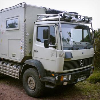 Mercedes 1124af 1995 Overland Camper – UK – £47,500