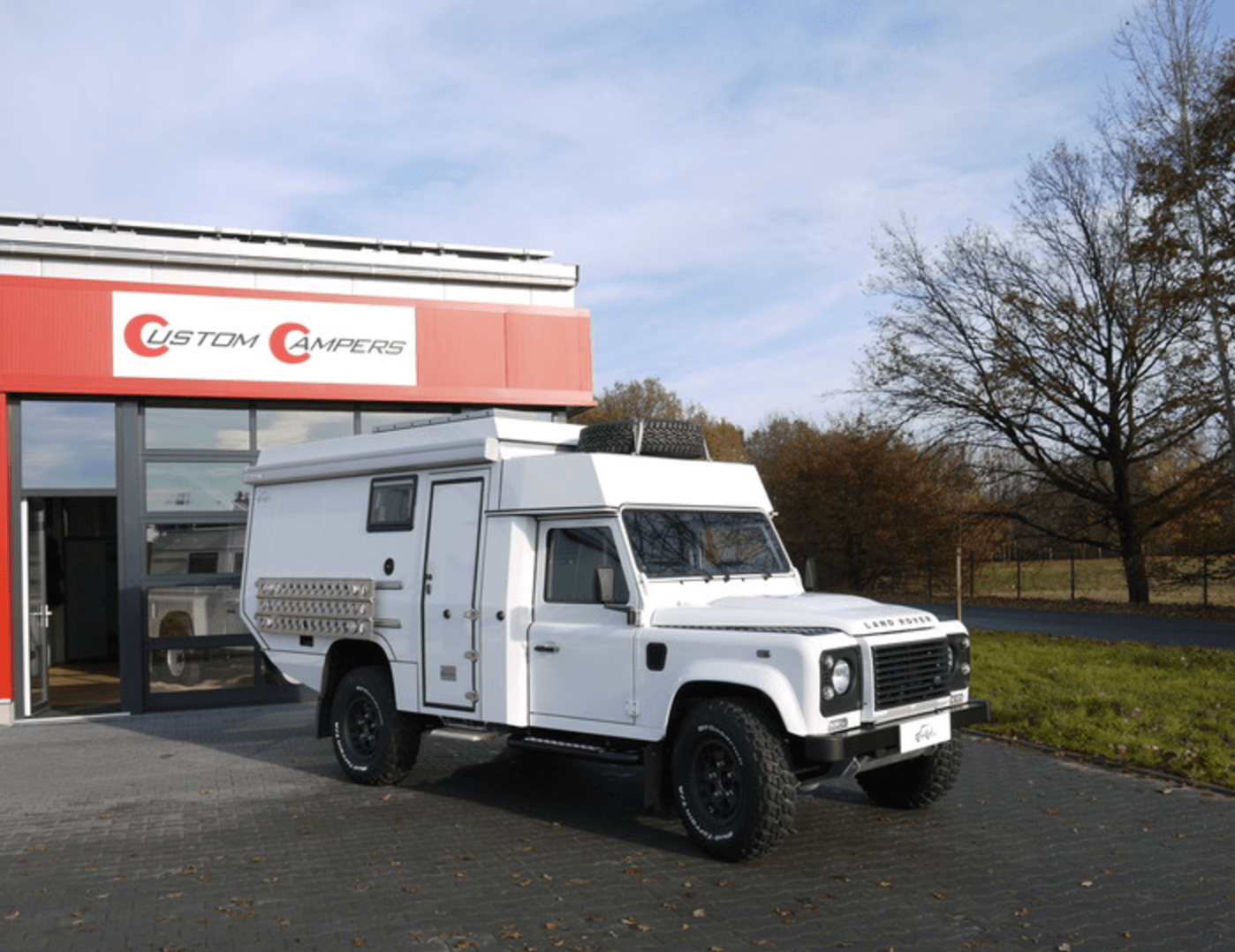 Land Rover Defender 2015 Customer Camper White Expedition Vehicles For Sale