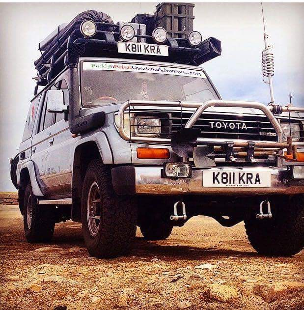 SOLD – 1992 Toyota Landcruiser 2.5TDI Fully Prepared – U.K. – £15995