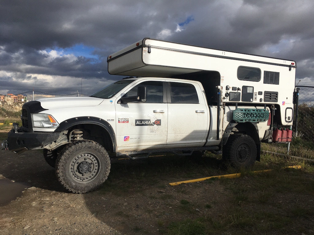 Sold Dodge Ram 2500 5 7 Palomino Backpack Camper Chile 50 000 Us Expedition Vehicles For Sale