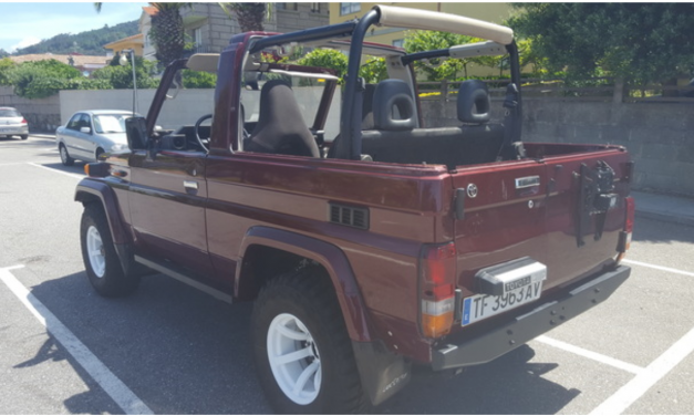 Toyota Land Cruiser HZJ73 convertible – Spain – €23,000