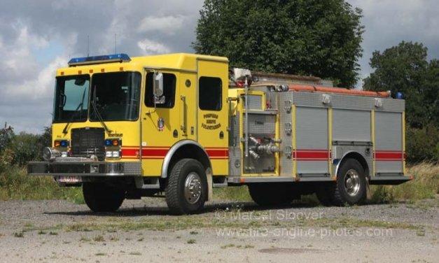 4×4 fire truck 24000 miles diesel automatic – Belgium – €35,000