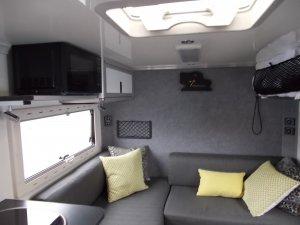 Defender 130 Camper Expedition Vehicle Interior