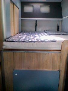 VW LT 40 Interior Bed