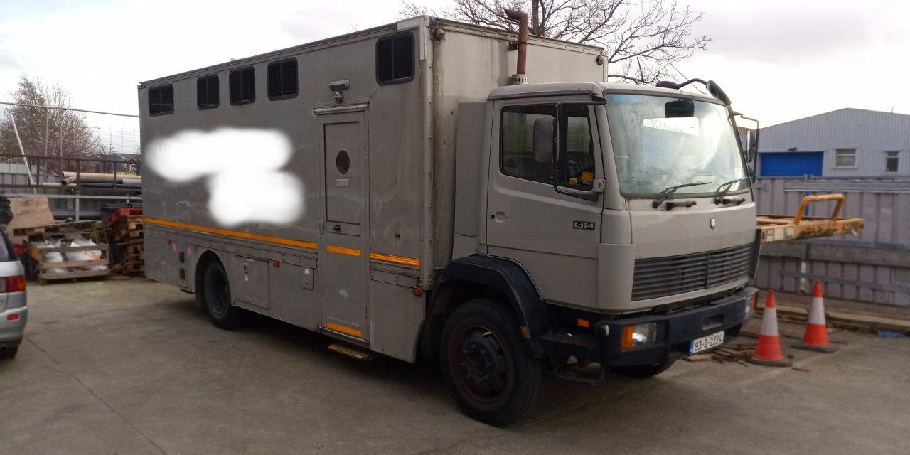 Mercedes 1314 4×4 Vehicle – Ireland – €25000
