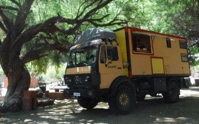 4X4 Mercedes Benz 1017A Overlander truck – Chile/Arg – $US65,000