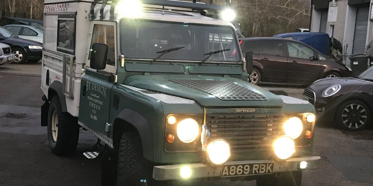 110 Land Rover Defender Camper – Scotland – £24,850